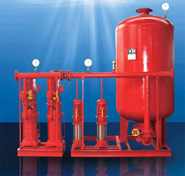 消防气压给水设备简介:高层建筑消防供水一般采用图片
