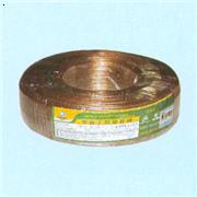 扁型透明聚氯乙烯绝缘音箱线(金银线)