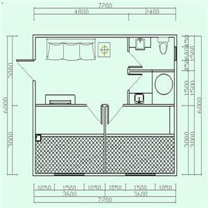 東北帶火炕房屋設計圖