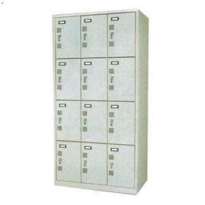 12门铁质更衣柜