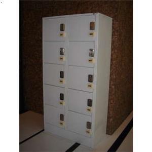 10门电子按键锁寄存柜