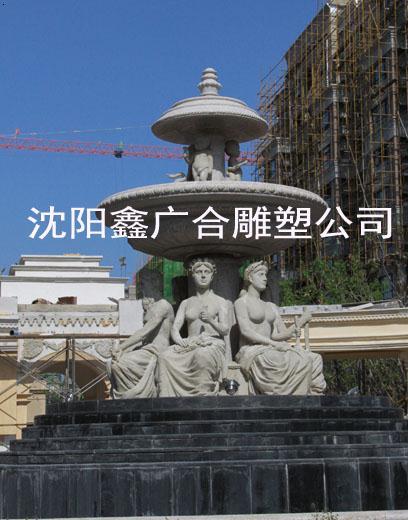 沈陽砂巖雕塑廠家|景觀雕塑采購