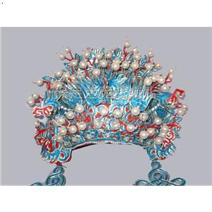 凤冠新娘彩铅手绘