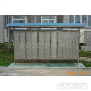 [新品]淮安供应户外带雨棚不锈钢 信报箱【可定制】