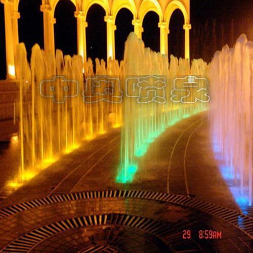 青岛科技大学喷泉