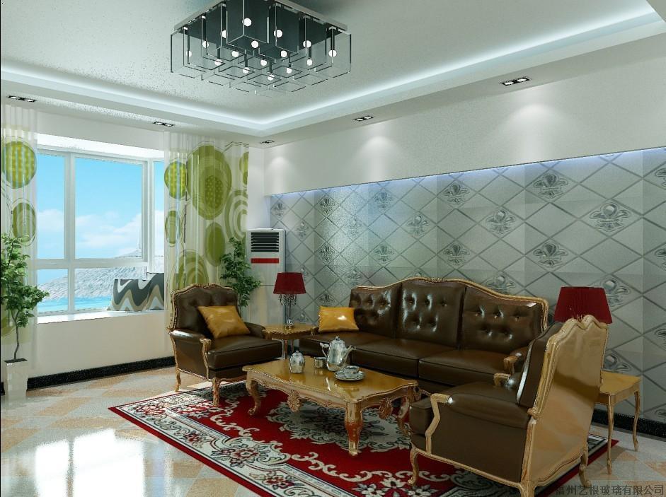 现代化客厅背景墙大厅沙发背景墙图片13