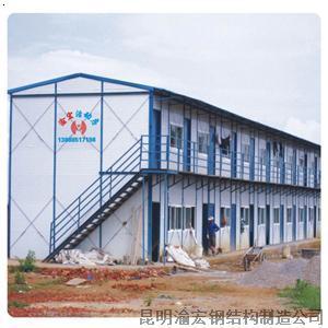 【活动房03】厂家,价格,图片_昆明恒光钢结构组件制造