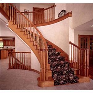 木楼梯扶手图片哪儿有