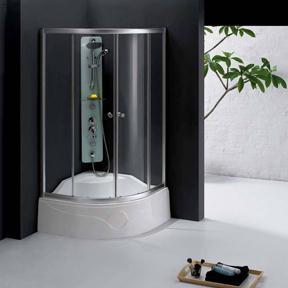 山东淋浴房弯钢玻璃批