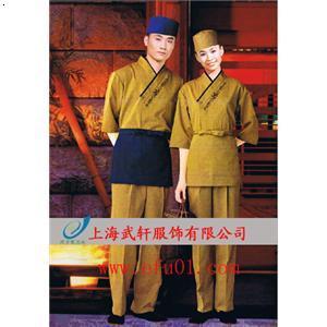 日式服务员服装图片_拉面馆日式服务员服装定做_图片_款式_价格_
