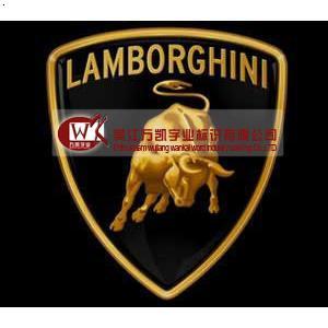 兰博基尼汽车标志 兰州定做汽车标志 吴江万凯字业标识有高清图片