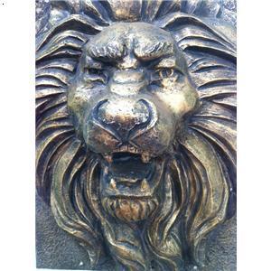 狮头正面矢量图
