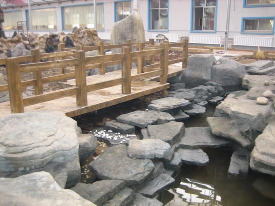 石金钱龟温室设计_石金钱龟楼顶龟池设计_金钱龟养殖场设计图