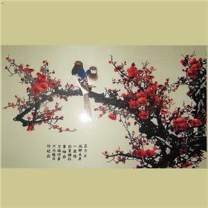 【傲雪红梅】厂家,价格,图片_大连红颖刺绣_必途网