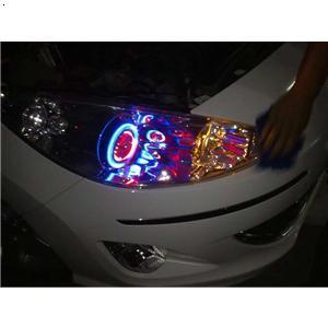 标志408汽车大灯 西魁大灯改装中心 必途 b2b.cn高清图片