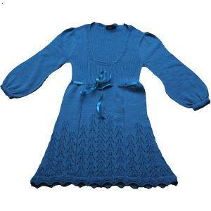 儿童针织裙