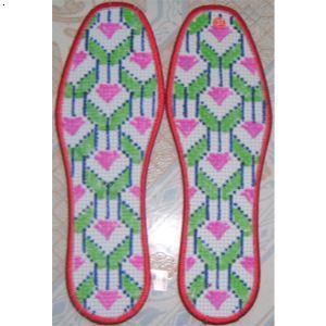 【湖南十字绣鞋垫厂新款产品/十字绣鞋垫半成品】