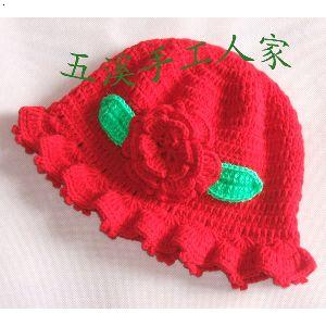 手工编织宝宝帽子
