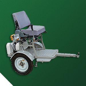 轮椅简笔画彩色