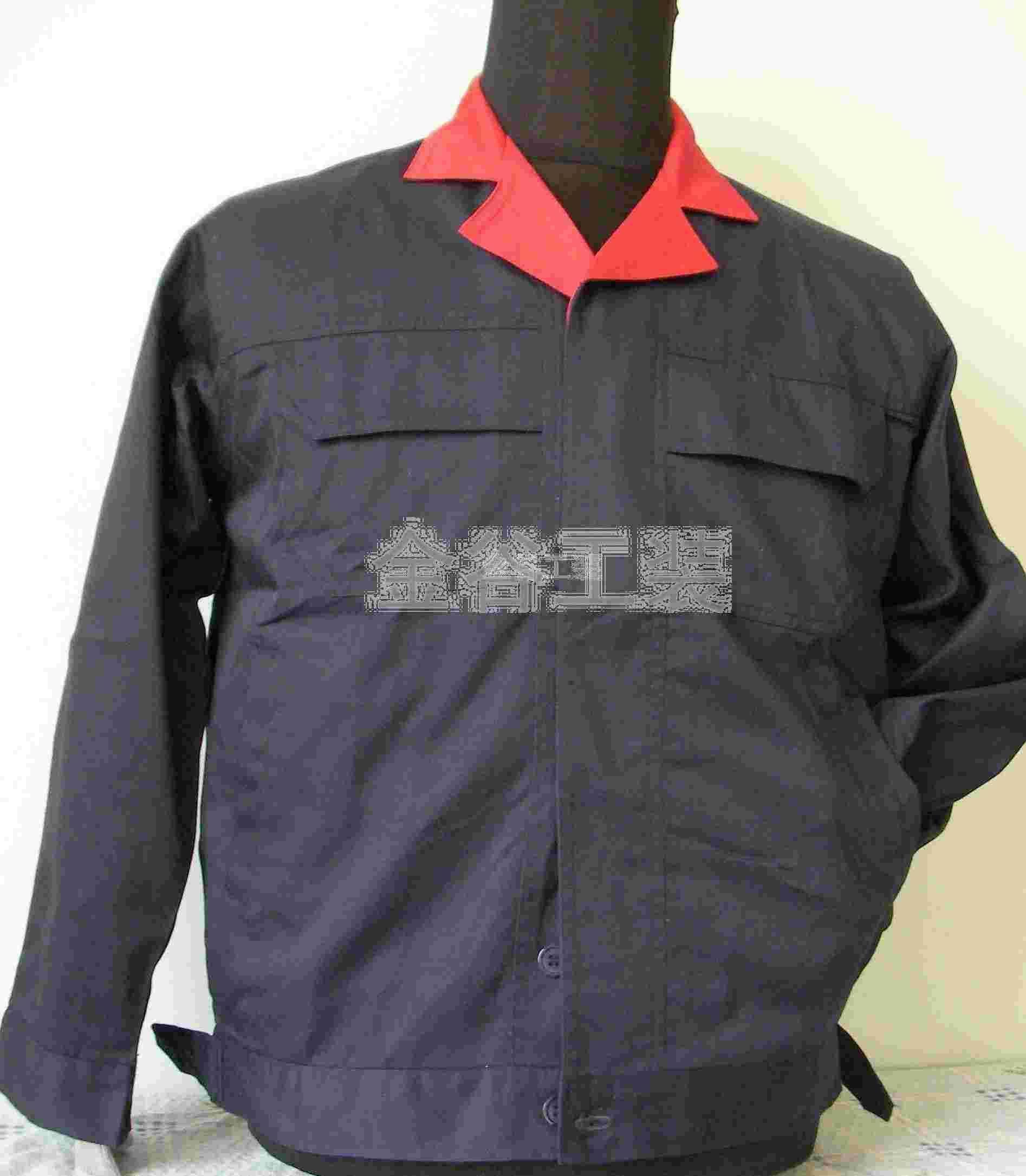 铭万网 找产品 服装设计 服装项目合作 >青岛机械工人工装 青岛工作服