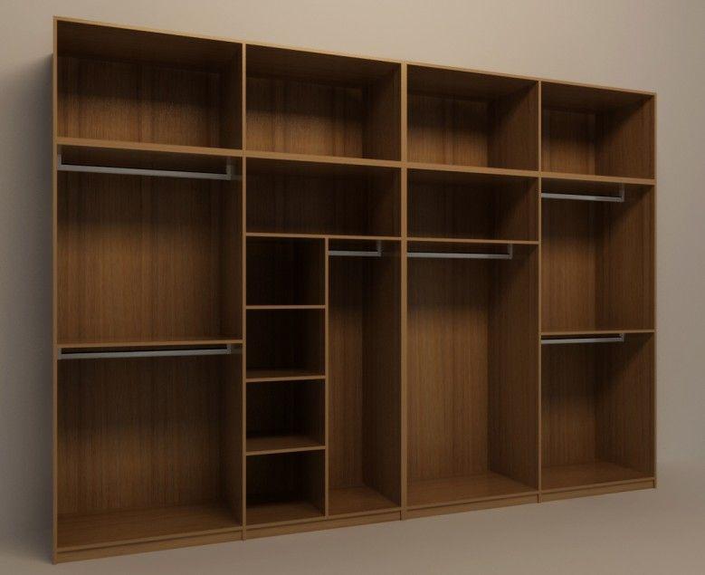 2米5衣柜内部结构图