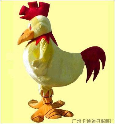 供应卡通服装/动物服装/道具服装鸡