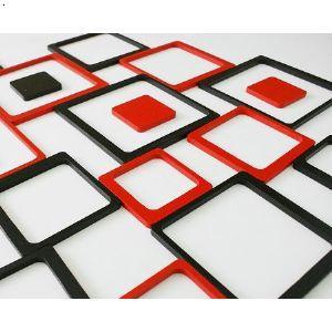 [新品]正方形立体墙贴,适于各种背景墙装饰