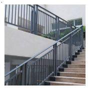 山东济南热镀锌静电喷涂组装式楼梯护栏,旋转楼梯,楼梯扶手