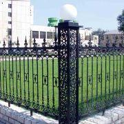 济南铁艺护栏制作 铁艺护栏价格 济南天鸿大军护栏