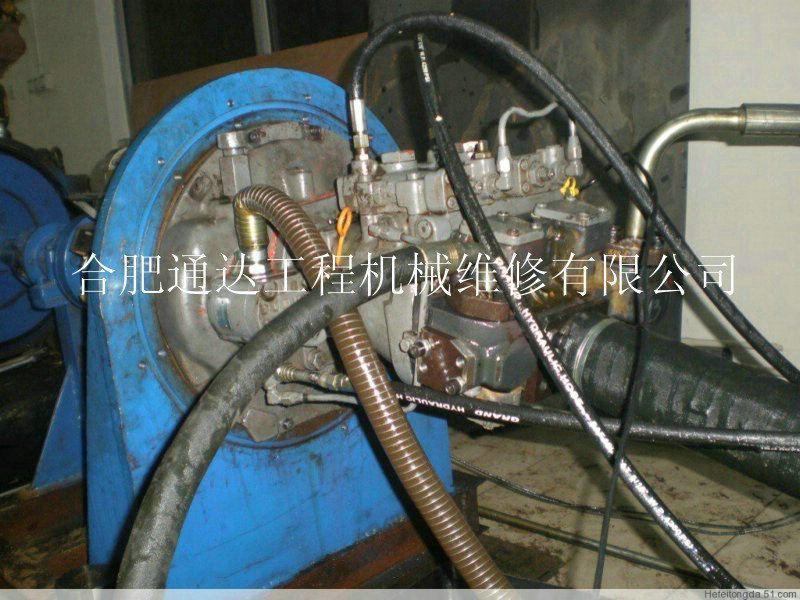 日立挖掘机液压系统维修图片