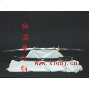 花纹钢武士刀(收藏品)