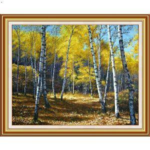 风景手绘油画