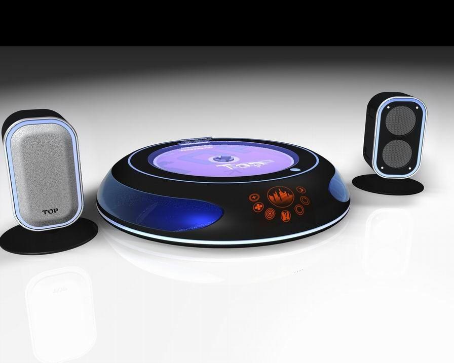 组合音响设计,音响造型设计,产品设计