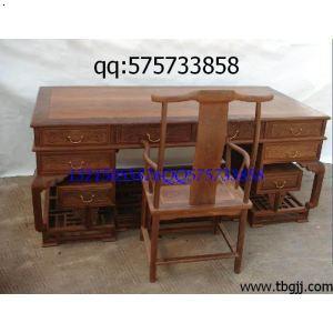 红酸枝办公桌,红木老板台.红木家具