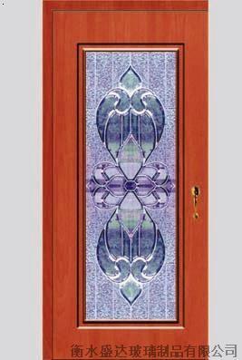 >木门镶嵌玻璃