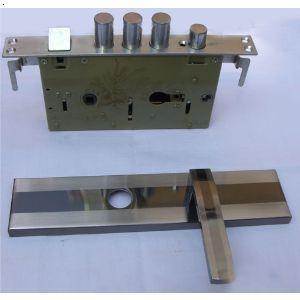 铁门锁的内部结构图