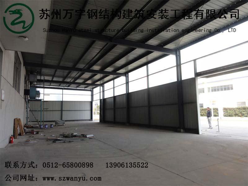 钢结构厂房_苏州万宇钢结构建筑安装工程有限公司-网