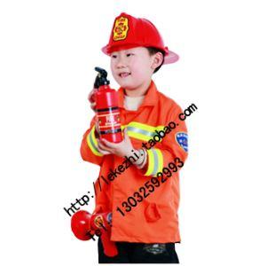 供应泰州市乐可智儿童消防员职业游戏扮演服装,厂家长年直销定制