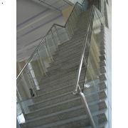 济南不锈钢楼梯护栏,不锈钢扶手,楼梯立柱