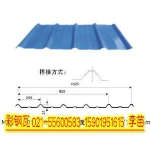 压型钢结构屋顶sgcc材质彩钢瓦