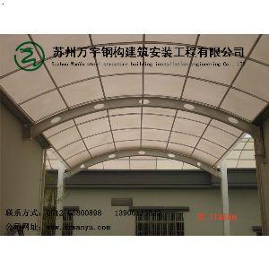 钢结构连廊雨棚