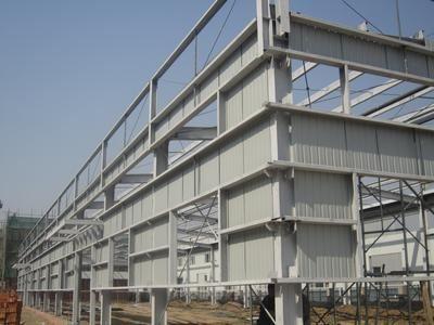 深圳钢架结构房屋,钢结构车棚