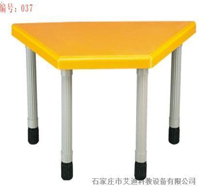学习桌 初中;  幼儿园 小学初中学习塑钢塑料 课桌  椅 梯形桌学生桌
