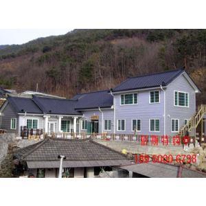 钢结构别墅和农家乐房屋设计
