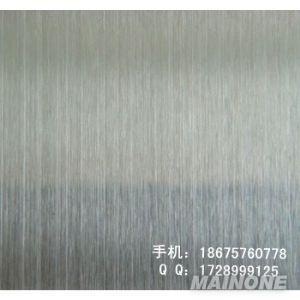 灰色拉丝不锈钢