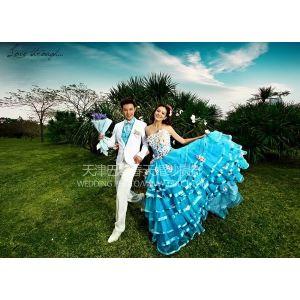 天津韩式婚纱照巴黎春天皇室幸福婚纱物语