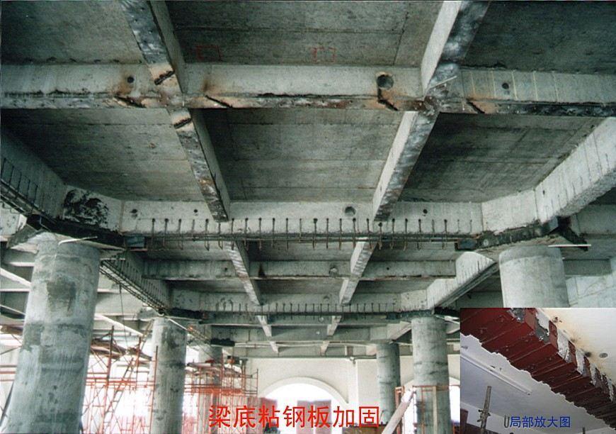 梁底粘钢板加固_宁波华冶建筑危难工程技术有限公司分