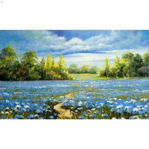 秋天的景色画儿童画,景色画,春天的景色画一幅图画,儿童夏天的景