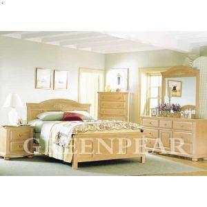 欧式卧室实木床