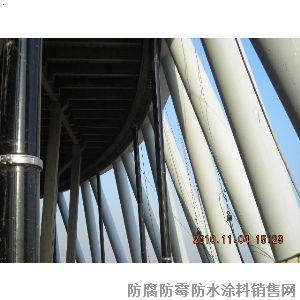 冷却塔专用耐酸防水涂料 凉水塔内壁防腐涂料 冷却塔防水涂料